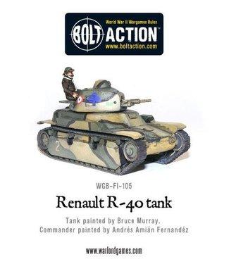 Bolt Action Renault R40 Tank