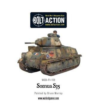 Bolt Action Somua S35