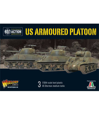 Bolt Action US armoured platoon