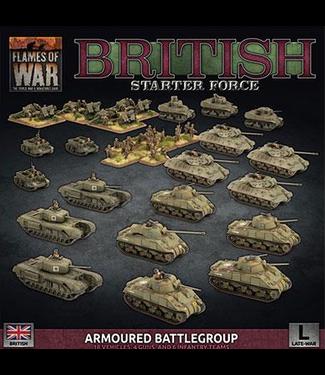 Flames of War British Armoured Battlegroup Army Deal