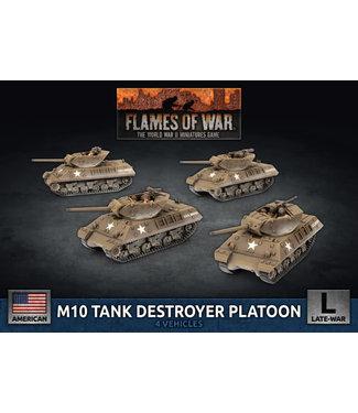 Flames of War M10 3-inch Tank Destroyer Platoon (Plastic)