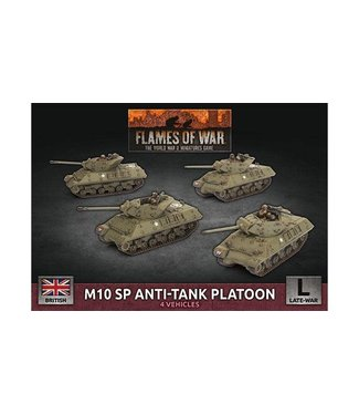 Flames of War M10 SP Anti-Tank Troop (Plastic)