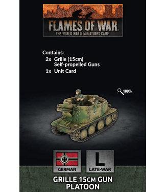 Flames of War Grille 15cm Gun Platoon
