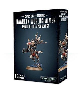 Warhammer 40.000 Haarken Worldclaimer, Herald of the Apocalypse