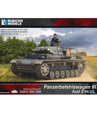 Rubicon Models Panzerbefehiswagen III Ausf E/H/J/L