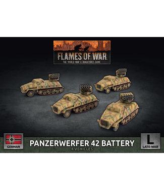 Flames of War Panzerwerfer 42 Battery