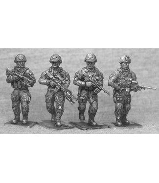 Empress Miniatures Australian Infantry Patrolling (AUS01)