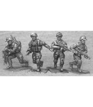 Empress Miniatures Australian Infantry Advancing (AUS02)