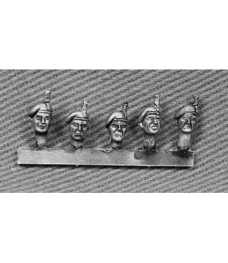 Empress Miniatures British Fusilier Heads with Hackles (BRIT10)