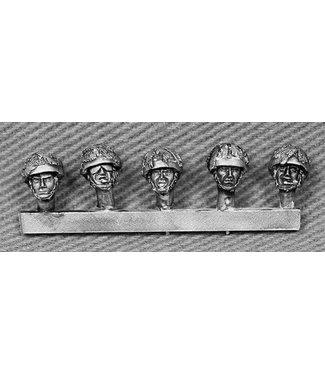 Empress Miniatures British Heads with Camouflaged Helmets (BRIT12)