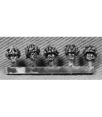 Empress Miniatures British Heads with Extra Camouflage (BRIT13)