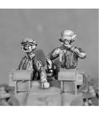 Empress Miniatures British Mounted AFV Crew (BRIT20)