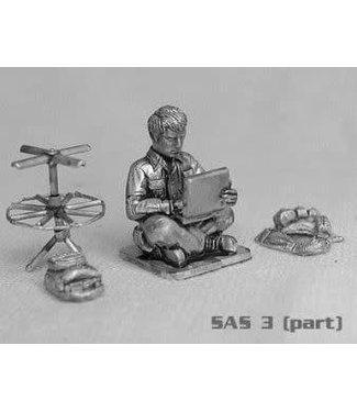 Empress Miniatures SAS Command Team with Interpreter (SAS3)