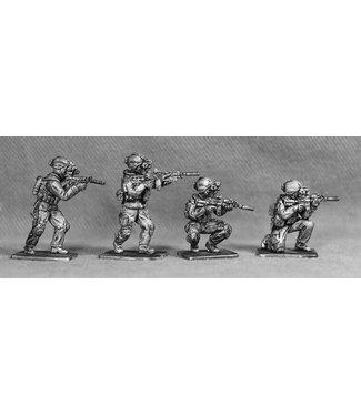 Empress Miniatures SAS Infantry  in Full Gear (SAS8)