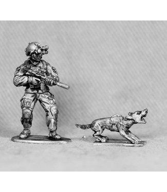 Empress Miniatures SAS Infantry with Dog (SAS9)