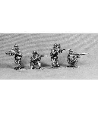 Empress Miniatures Bundeswehr Fireteam Firing (BUNDE3)