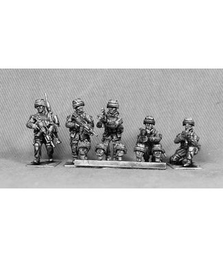 Empress Miniatures Bundeswehr Heads with Old Version Helmets (BUNDE9)