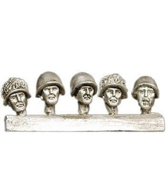 Empress Miniatures Russian Heads with Helmets (CWR05)