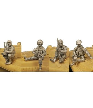 Empress Miniatures Russian Infantry Riding Vehicles (CWR09)