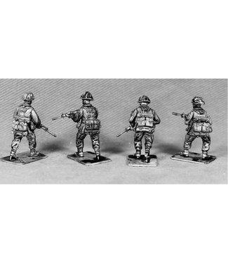 Empress Miniatures British Infantry Advancing (BAOR3)