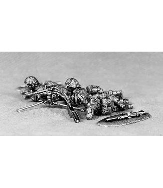 Empress Miniatures British GPMG Team (BAOR4)