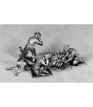 Empress Miniatures British Mortar Team (BAOR5)
