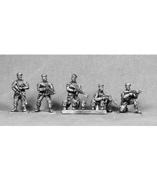 Empress Miniatures French Foreign Legion Heads with Berets (FR08)