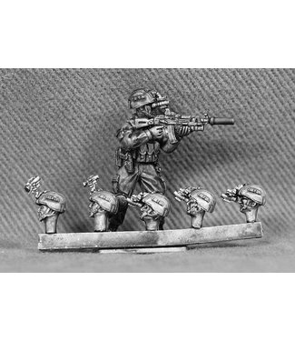 Empress Miniatures Russian Heads with Night Vision Goggles (RUS09)
