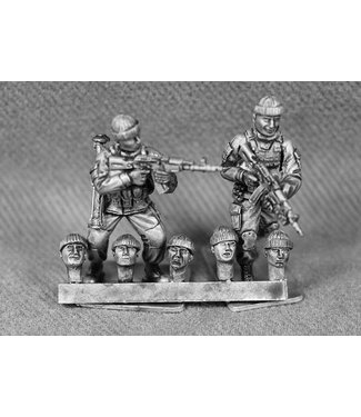 Empress Miniatures Russian Heads with Soft-Hats (RUS11)