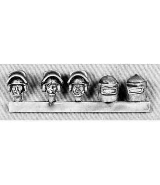 Empress Miniatures Russian Heads with Armoured Helmets (RUS13)