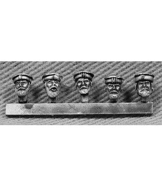 Empress Miniatures Taliban Heads (TAL08)