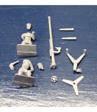 Empress Miniatures Taliban Recoiless Rifle and Crew (TAL09)