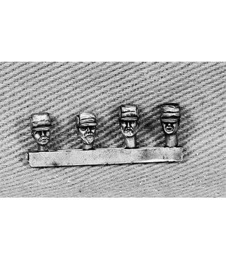 Empress Miniatures Afghan Police Head Sprue