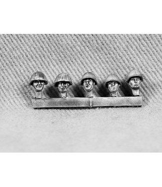 Empress Miniatures Soviet Helmet Heads