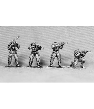 Empress Miniatures Modern Soldiers with M1 Helmets (UN01A M1 HEADS)