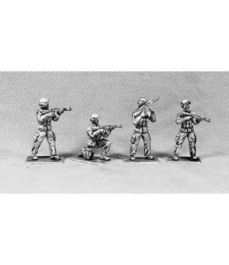 Empress Miniatures Modern Soldiers with Mich Helmets (UN02A MICH HEADS)