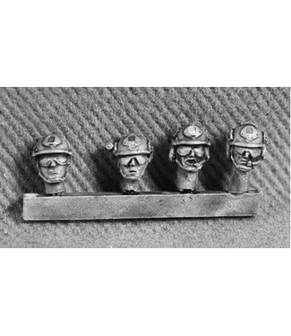 Empress Miniatures Modern Soldiers with Fast Helmets (UN03A FAST HEADS)