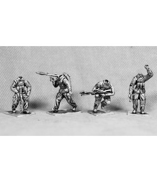 Empress Miniatures Modern Soldiers with Fast Helmets (UN03B FAST HEADS)
