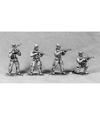 Empress Miniatures Modern Soldiers with Insurgent Heads (UN04A INSURGENT HEADS)