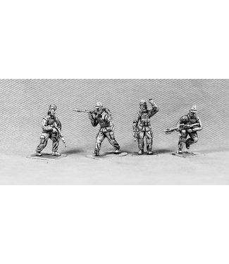 Empress Miniatures Modern Soldiers with Insurgent Heads (UN04B INSURGENT HEADS)