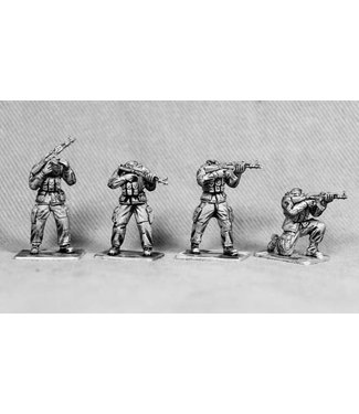 Empress Miniatures Modern Soldiers with African Heads (UN08A M1 AFRICAN HEADS)