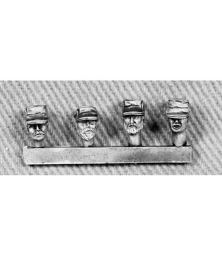 Empress Miniatures Modern Soldiers with Afghan Police Heads (UN09A AFGHAN POLICE.)