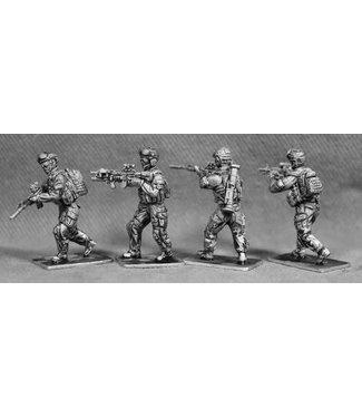 Empress Miniatures US Rangers Running (RAN02)