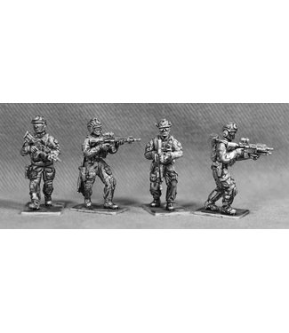 Empress Miniatures US Rangers Walking (RAN01)