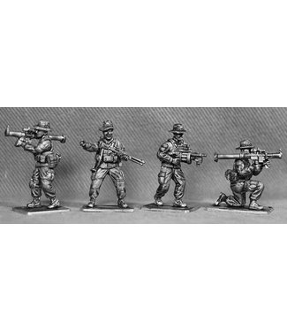 Empress Miniatures US Marines Support Weapons with Boonie Hats (USMC11B)