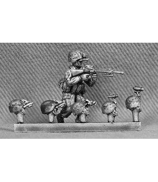 Empress Miniatures US Marines Heads with K-Pot Helmets with NVG (USMC15)