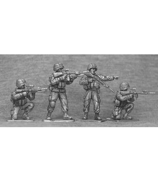 Empress Miniatures US Marines Firing (USMC3)
