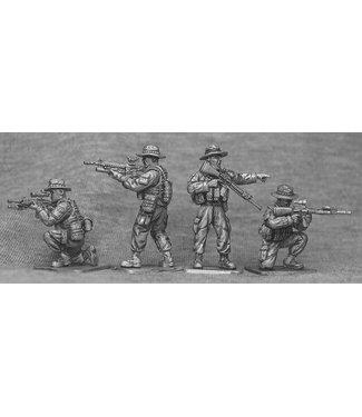 Empress Miniatures US Marines with Boonie Hats Firing (USMC3B)