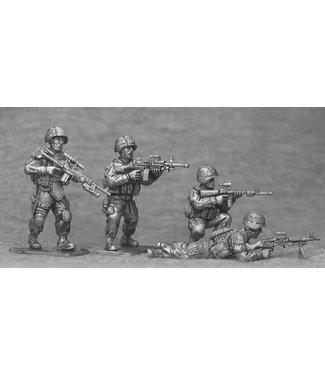 Empress Miniatures US Marines Support Weapons (USMC4)
