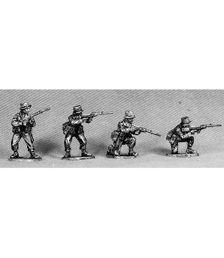 Empress Miniatures ANZAC Riflemen Firing/Loading (ANZ2)